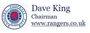 Dave King Letter