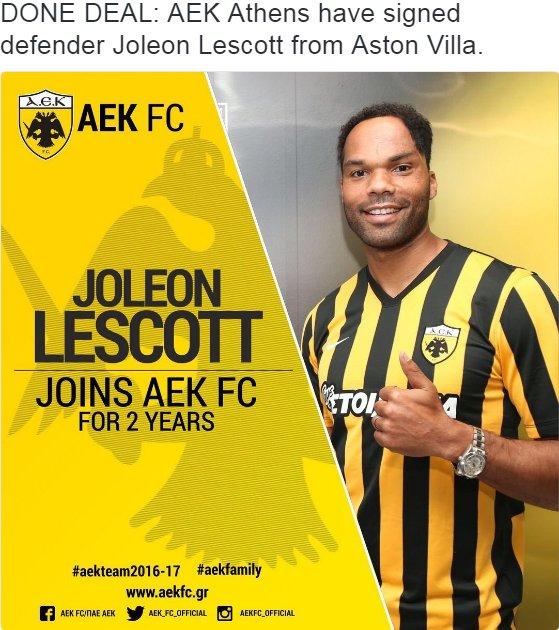 Lescott AEK