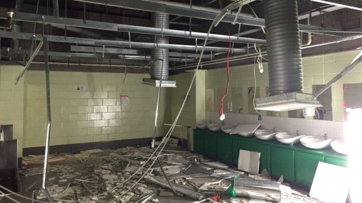 Celtic Toilets vandalised